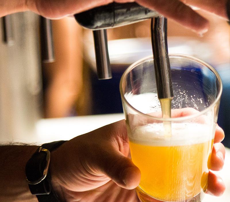 Beers / Shots go bananas